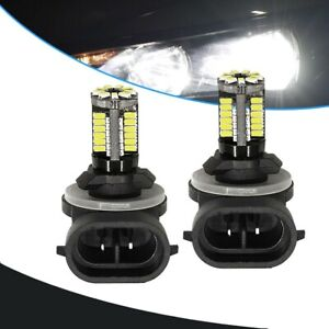 2x 881 Led Replacement 12v Bright White Car Fog Light Bulbs 862 886 889 894 896