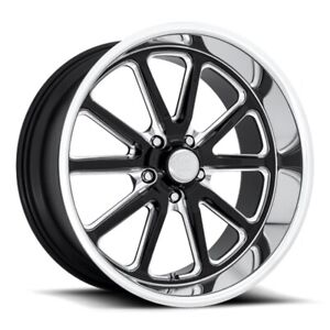 20x9 5 Et1 Us Mag U117 Rambler 5x127 Black Milled Rims set Of 4