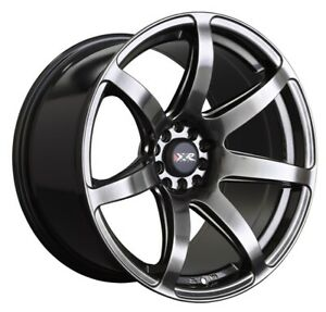 18x8 5 35 Xxr 560 5x100 114 3 Chromium Black Wheels Set Of 4