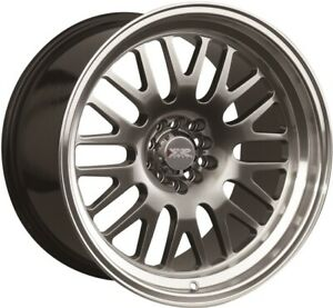 17x8 35 Xxr 531 5x100 114 3 Chromium Black Wheels set Of 4