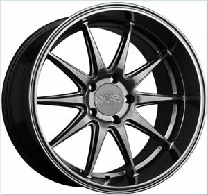 18x9 35 Xxr 527d 5x114 3 Chromium Black Wheels Set Of 4