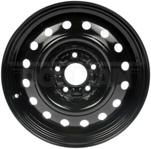 Wheel For 10 14 Hyundai Sonata 16 Inch Steel Rim Black Painted 5 Lug 114 3mm