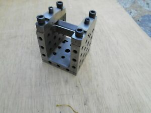 Machinist Grind Cube Grind Block With Clamp 2 1 4 h X 2 3 8 X 2 3 8