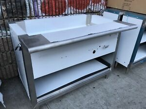 48 Steam Table Propane Gas 3 Pans All Stainless Steel Nsf Approved