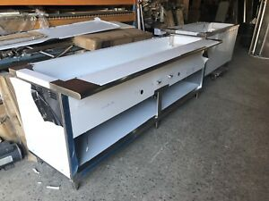 84 Stainless Steel Steam Table 6 Pans 2 Burners Nat Gas 40 000 Btu Nsf Approved