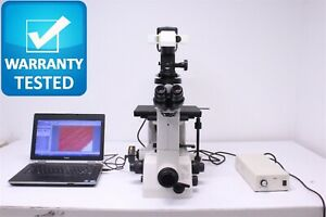 Nikon Te300 Inverted Dic Microscope