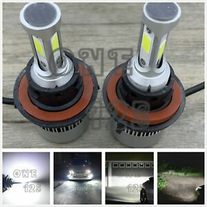 H13 9008 Cree Led Headlight Bulbs Conversion Kit High Low Beam 6000k White 60w