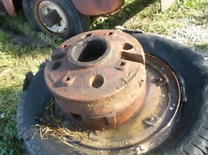 4 Mccormick Deering I 6 Industrail Rear Weights Hard To Find With Ih Stamp