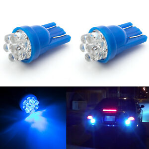 2x T10 T15 921 912 8000k Ice Blue 7 Smd Led Backup Reverse Tail Light Bulbs