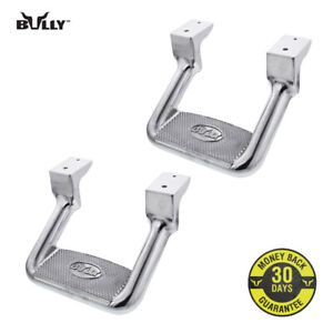 Bully Chrome Aluminum Suv Truck Bed Side Step As 200 Set Of 2