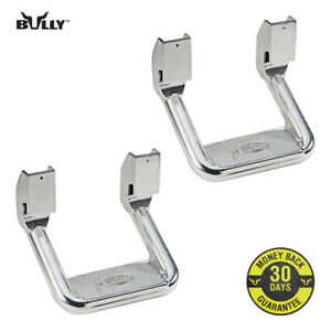 Bully Chrome Aluminum Suv Truck Bed Side Step As 600 Set Of 2