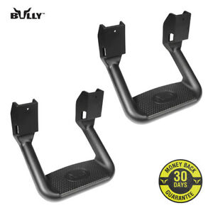 Bully Black Aluminum Suv Truck Bed Side Step Bbs 1103 Set Of 2