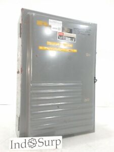 Federal Pacific Enclosed Switch Fpe Panel Amp 200 240 Volt Phase 3 3 Pole