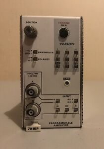 Tektronix 7a16p Programmable Amplifier Plug In