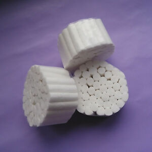 5 Packs Dental Disposable Cotton Rolls 250 Rolls High Quality Tools White Fine