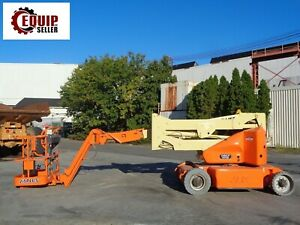 2011 Jlg E400ajpn Electric Boom Man Aerial Lift 40ft Height