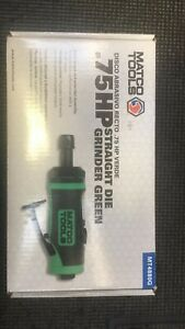 Matco Tool 75hp Straight Die Grinder Green Brand New Never Used