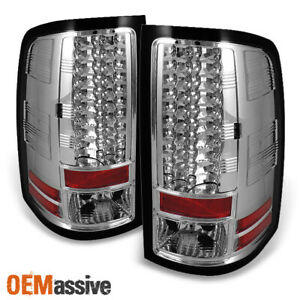 Fits 07 13 Gmc Sierra Philips Lumileds Led Tail Lights Left right 2007 2013