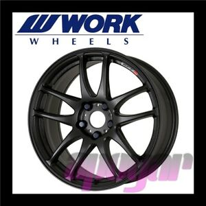 Work Emotion Cr Kiwami Wheel 1pcs 18 Inch 8 5j 38 5h 114 3 Matte Black Mbl