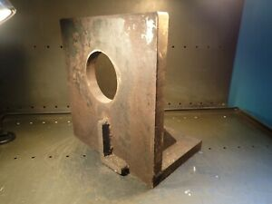 15 3 4 X 9 3 4 X 15 Wide Machinist Right Angle Set up Fixture Plate Used