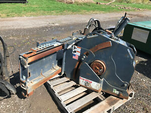 Road Hog Rs10 Skid Steer Road Saw Attachment High Flow