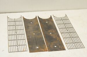 1963 Studebaker Hawk Front Lower Grille Inserts Matched Set Of 2