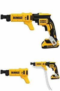 Drywall Screw Driving Gun Cordless Collated Magazine Quick Max Xr Li ion 20v