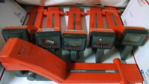 Lot Of 6 Metrotech Locator Wand Model 9890xt 9860 Locator For Parts Read Ad