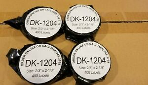 Brother Compatible 1204 Address Barcode Labels 0 66 X 2 1