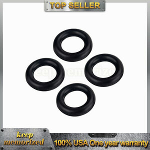 4 X Exhaust Pipe O ring Exhaust Tips Muffler Silencer Hanger Rubber Insulator