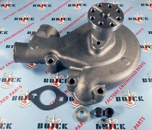 1936 1949 Buick Straight 8 Water Pump With Gasket Oem 1393739