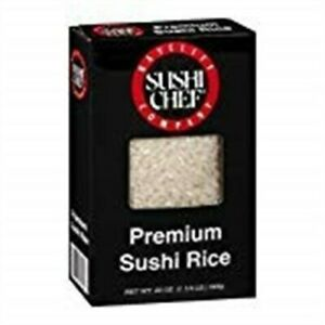 Sushi Chef Rice short Grain 20 Oz Pack Of 6