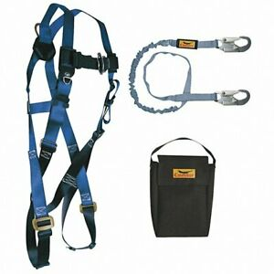 Condor Universal Size Fall Protection Kit 310 Lb Weight Capacity New 19f395