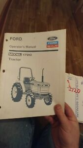 Operator s Manual 1720 Ford New Holland Choice 1910 1120 1210 1310 2110
