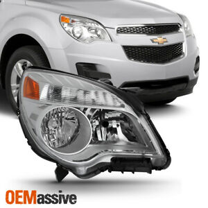 Fit 10 17 Chevy Equinox Ls lt Passenger Right Side Halogen Headlight Replacement