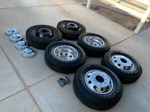 17 Dodge Ram 3500 Dually Oem 2019 Wheels Rims Tires Including Spare