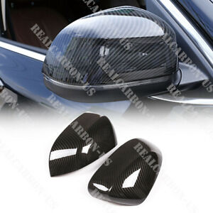 Carbon Fiber Style For Bmw X5 X6 F15 F16 2014 2018 Rearview Mirror Cap Cover