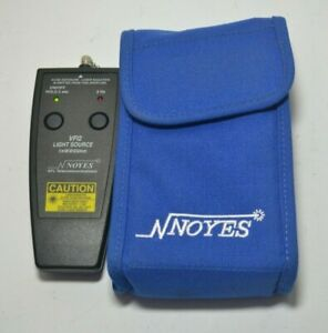 Afl Noyes Vfi2 Light Source 2 5mm Fiber Optic Test Equipment Afl Vfi 2