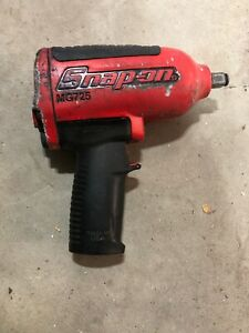 Snap On Mg725 Dr Pneumatic Air Impact Wrench Red For Parts