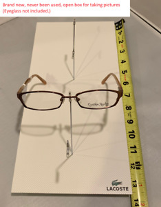 New Lacoste Eyewear Tabletop Display hold 4 Pieces