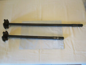 Ford Gpw Willys Mb Wwii Military Jeep Scalloped Vep Axles Shaft F Marked Rare