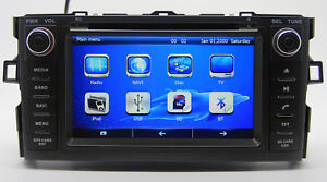 Car Radio Dvd Player Gps Navigation For Toyota Auris Corolla Hatchback 2007 2012
