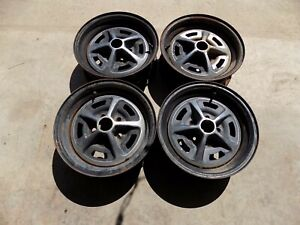 Magnum 500 Wheels Oem 14 X 5 1 2 Charger Gtx Torino Dodge Ford Mustang Gt Rt 69