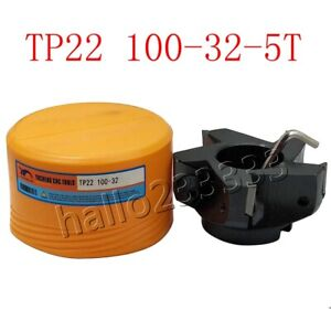 Tp22 100 32 5t Square Shoulder Indexable Face Milling Cutter For Tpkn2204 Blade