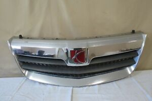 07 08 09 10 Saturn Outlook Front Upper Grille Grill Mesh Emblem Chrome Oem Gm