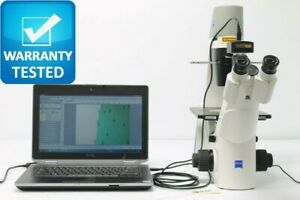 Zeiss Primovert Inverted Phase Contrast Microscope