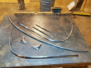 1952 Oldsmobile 88 Hardtop Coupe Rear Window Trim 1951 Buick Cadillac