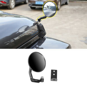 Car Exterior Accessories Hood Cover Backup Mirror For Jeep Wrangler Jl 2018 2019