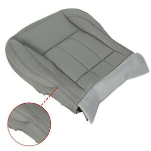 For 06 09 Dodge Ram 1500 2500 3500 New Driver Lh Side Bottom Seat Cover Gray