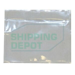 7x10 Or 4 5x5 5 Clear Packing List Envelopes Pouches Shipping Depot